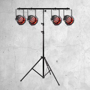 Lichttechnik LED Scheinwerfer Mieten Leihen - DJs in Action Goslar